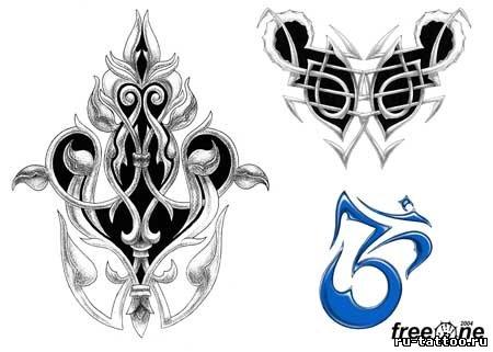 Татуировки абстракция на руку