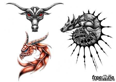 Рисунки драконов