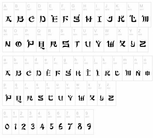 Шрифты для татуировок татуировки