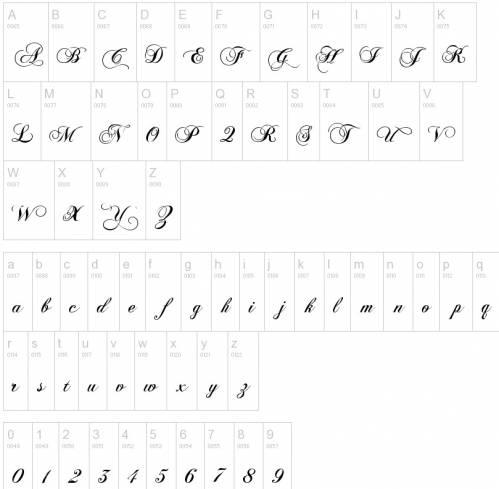 Шрифты для татуировок шрифты для тату
