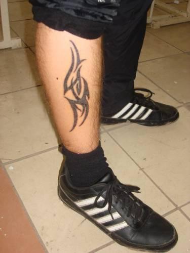 Татуировок тату на ногах тату на ноге
