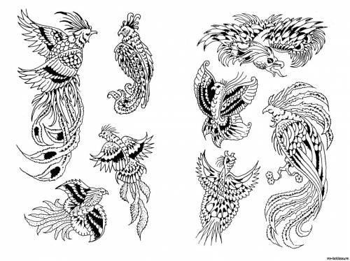 Тату птиц тату птиц татуировки