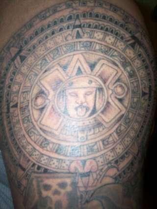 Татуировки ацтеков солнце ацтеков