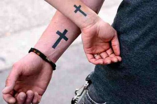 Best friend boy and girl tattoos